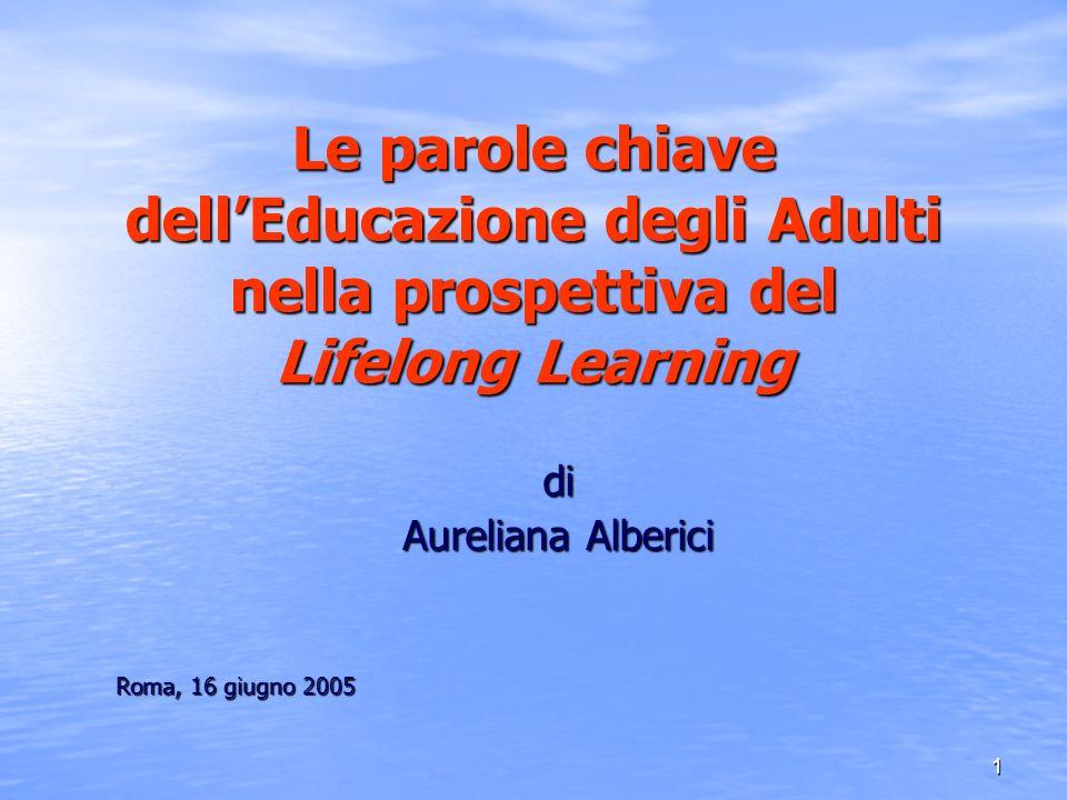 di Aureliana Alberici Roma, 16 giugno 2005