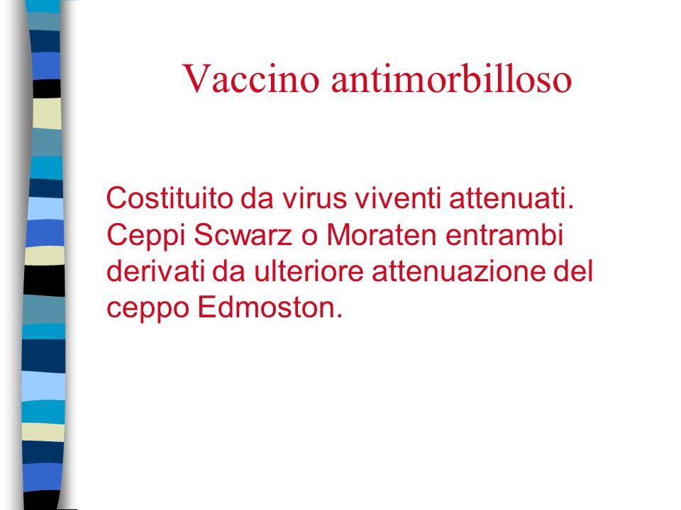 Vaccino antimorbilloso