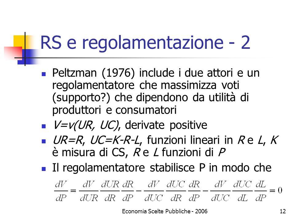 RS e regolamentazione - 2