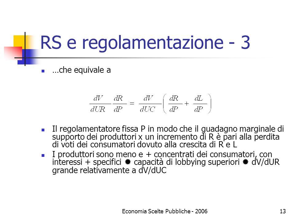 RS e regolamentazione - 3
