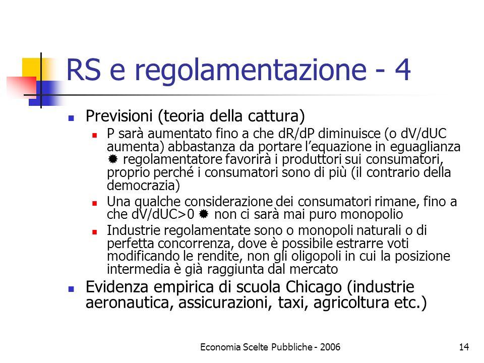 RS e regolamentazione - 4
