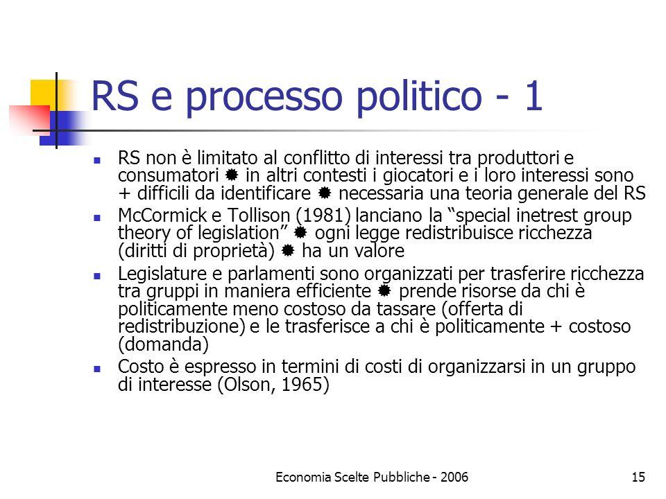 RS e processo politico - 1
