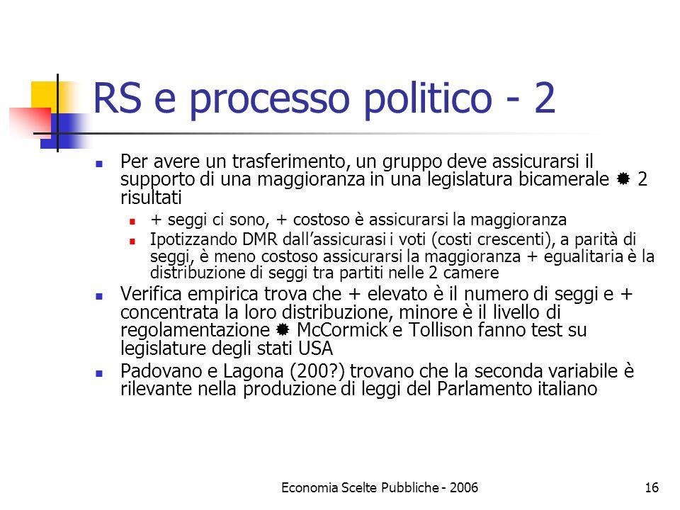 RS e processo politico - 2