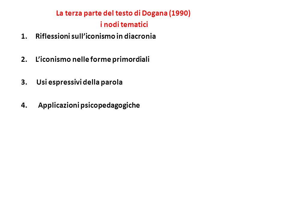 La terza parte del testo di Dogana (1990)