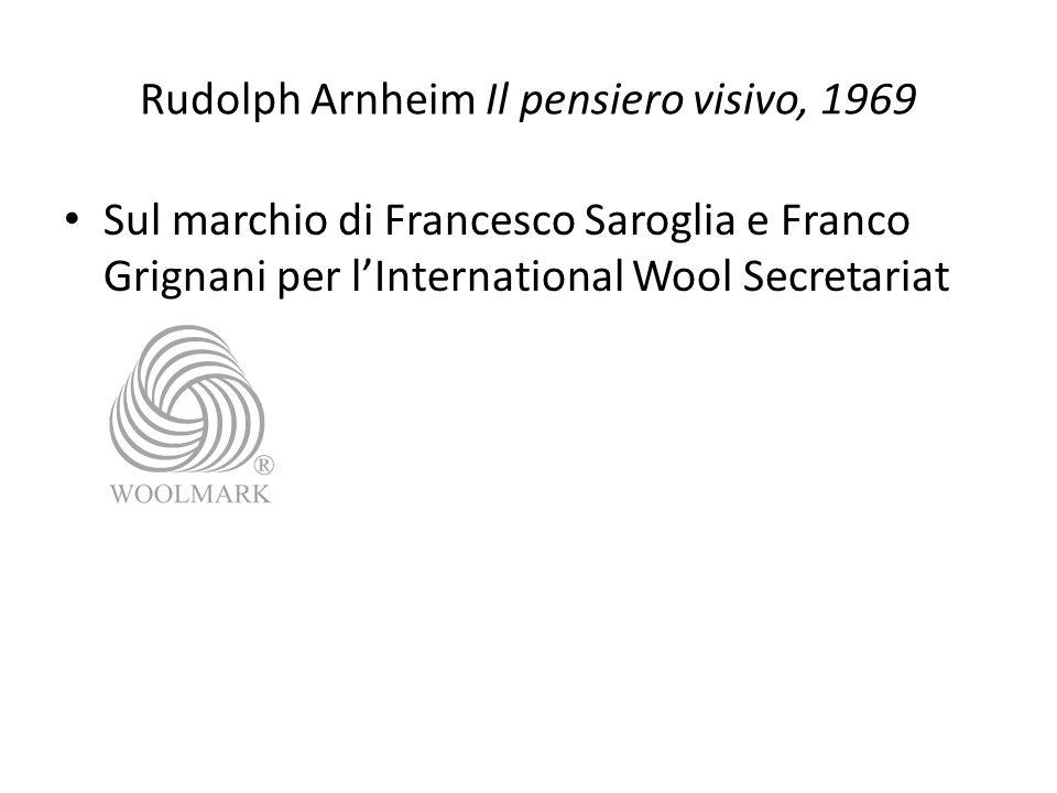 Rudolph Arnheim Il pensiero visivo, 1969