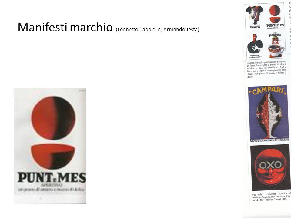 Manifesti marchio (Leonetto Cappiello, Armando Testa)