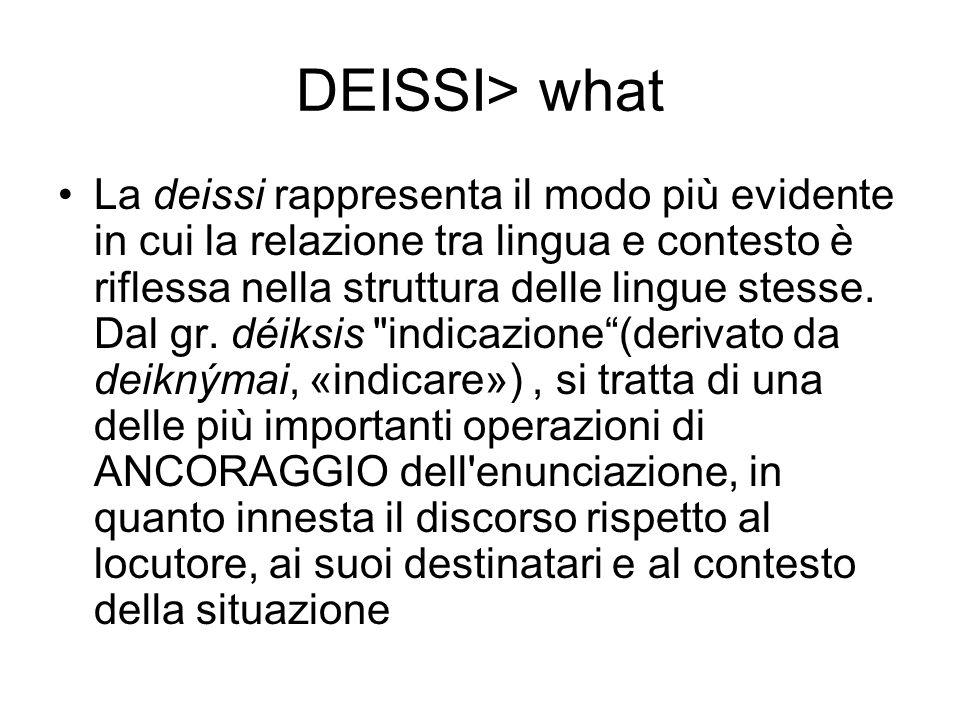 DEISSI> what