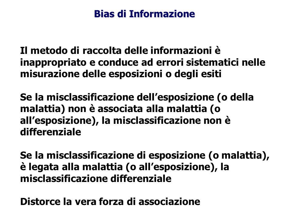 Bias di Informazione