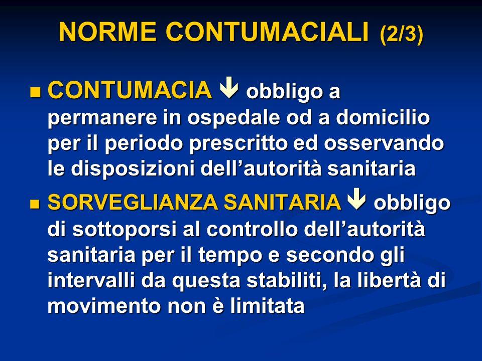 NORME CONTUMACIALI (2/3)