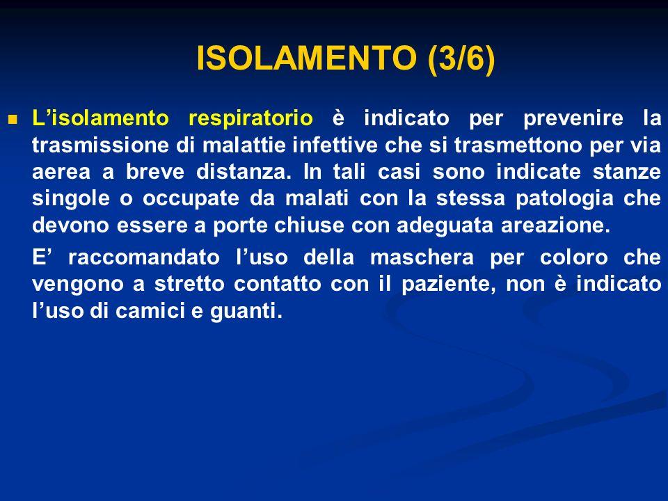ISOLAMENTO (3/6)