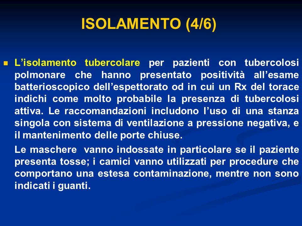 ISOLAMENTO (4/6)