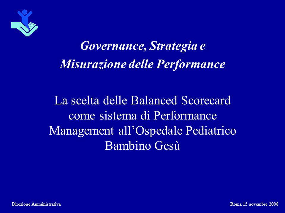 Governance, Strategia e