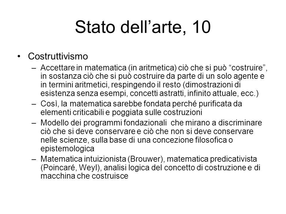 Stato dell'arte, 10 Costruttivismo