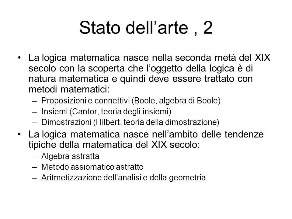 Stato dell'arte , 2