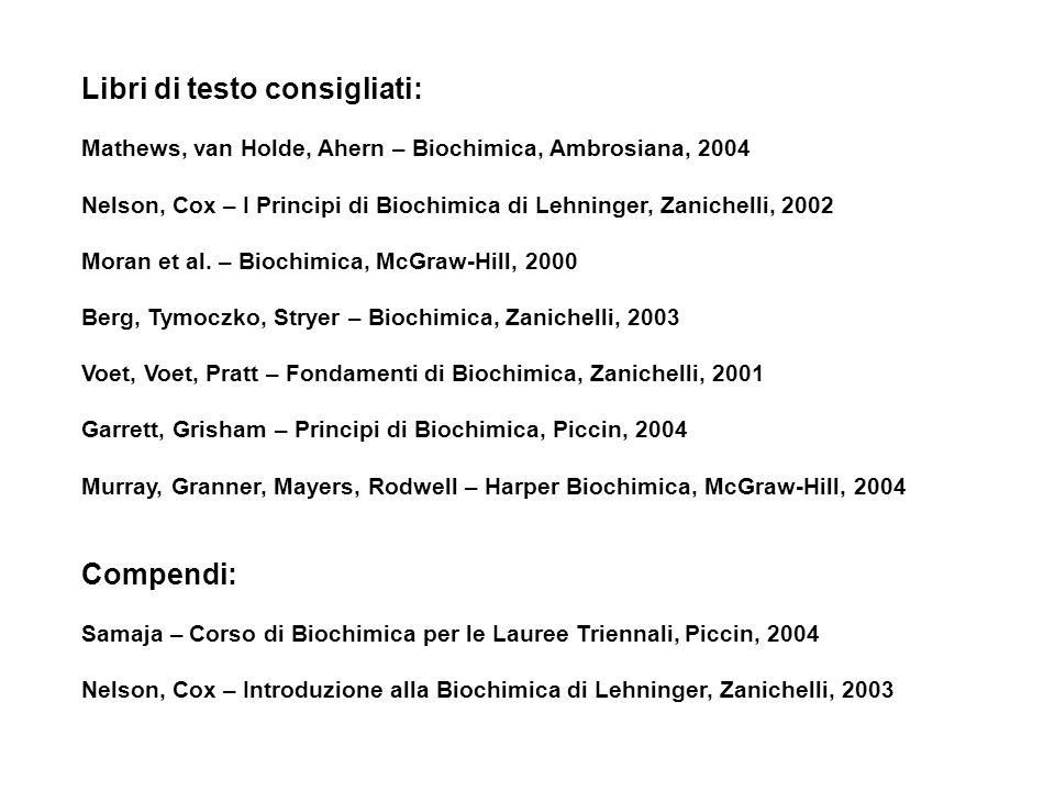 I Principi Di Biochimica Di Lehninger 5 Edizione Ebook Download