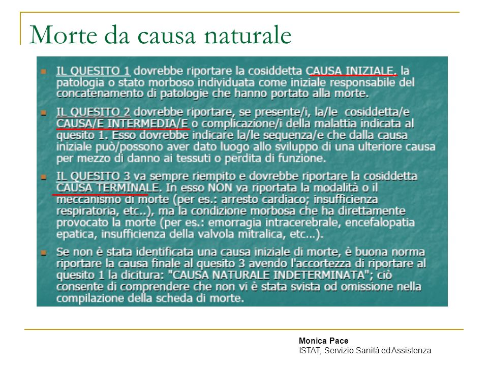 Morte da causa naturale