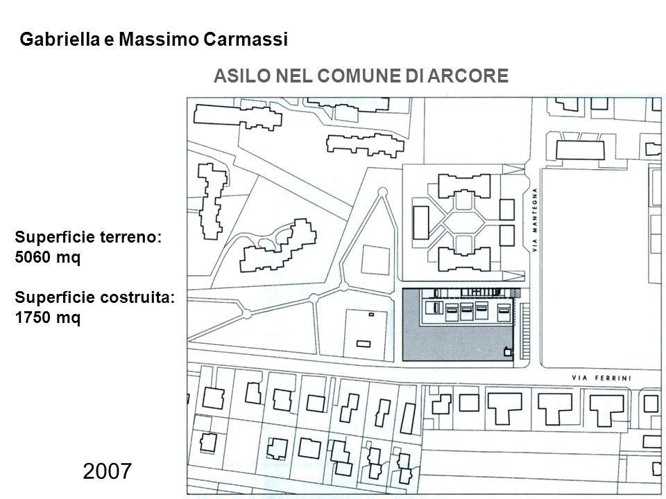 2007 Gabriella e Massimo Carmassi ASILO NEL COMUNE DI ARCORE