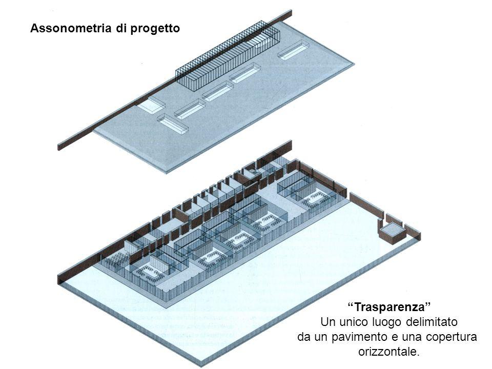 Assonometria di progetto