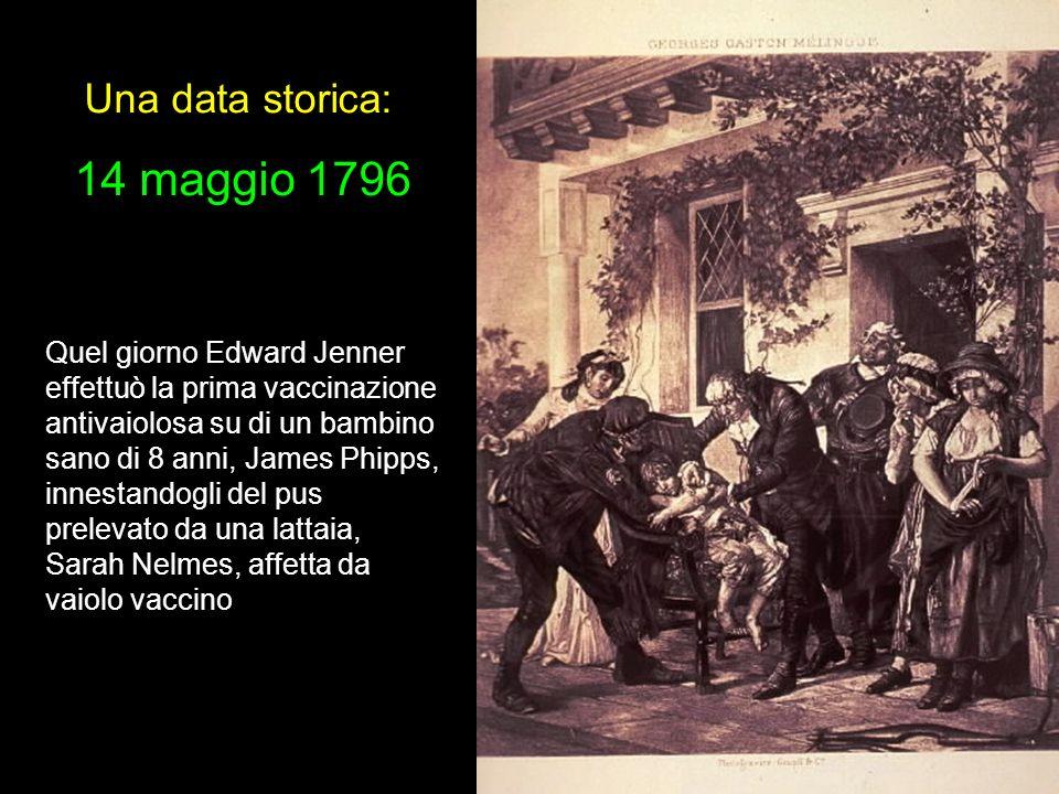 Una data storica: 14 maggio 1796