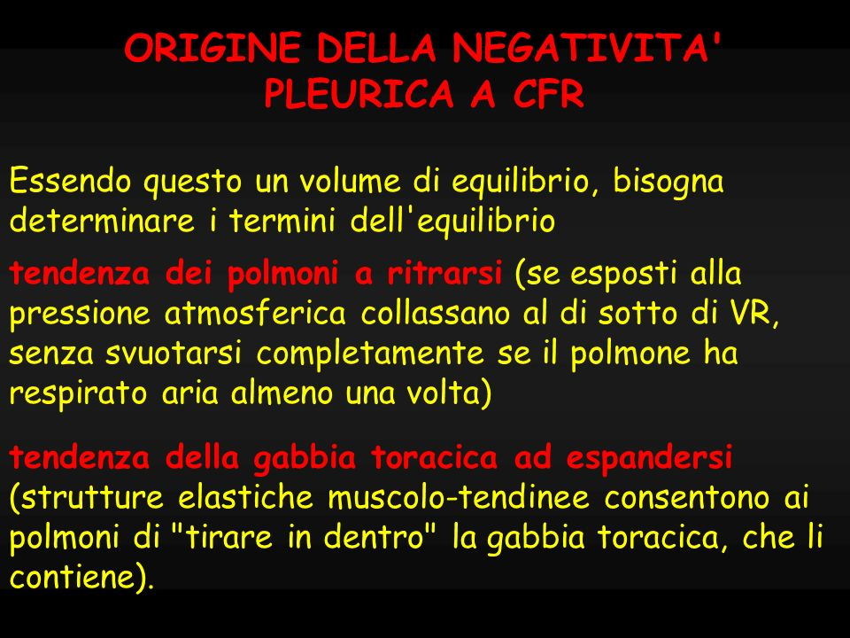 ORIGINE DELLA NEGATIVITA