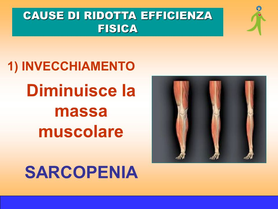 CAUSE DI RIDOTTA EFFICIENZA FISICA