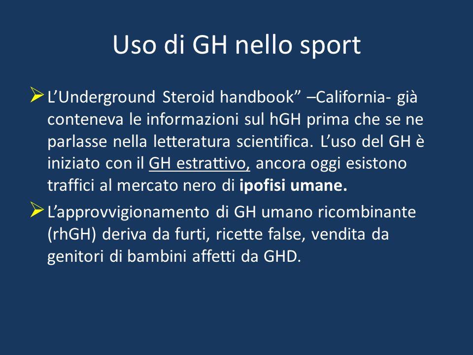 Uso di GH nello sport