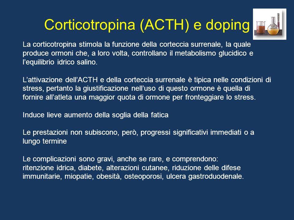 Corticotropina (ACTH) e doping