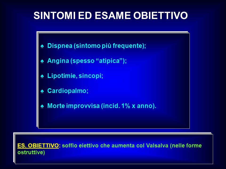 SINTOMI ED ESAME OBIETTIVO