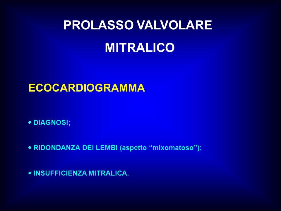 PROLASSO VALVOLARE MITRALICO