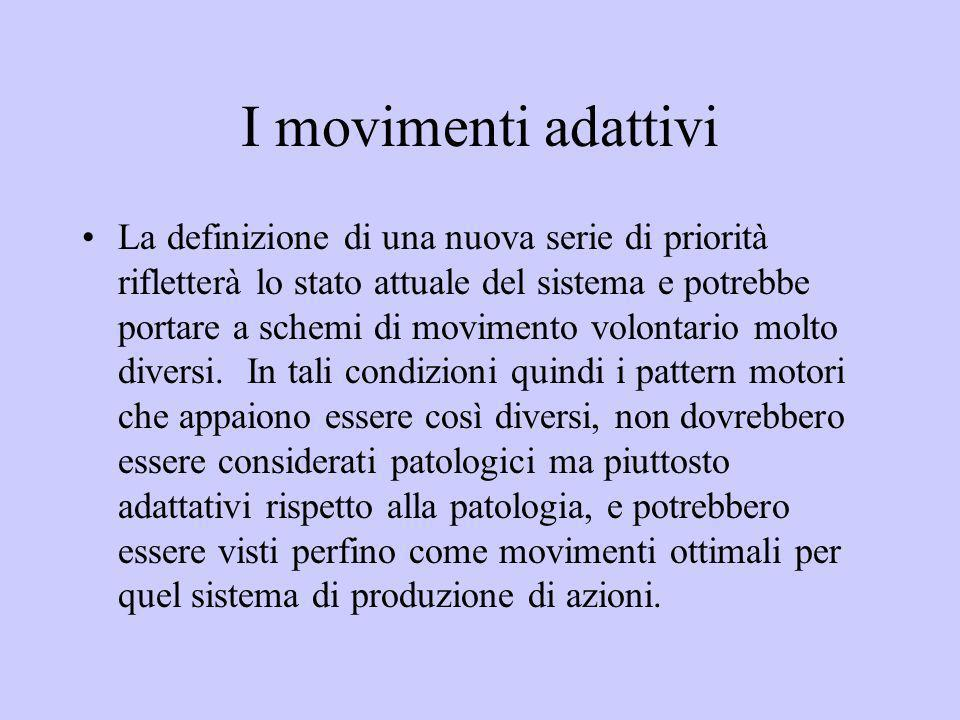 I movimenti adattivi