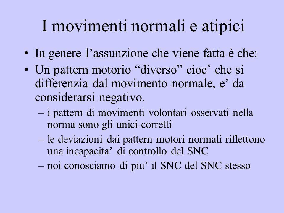 I movimenti normali e atipici