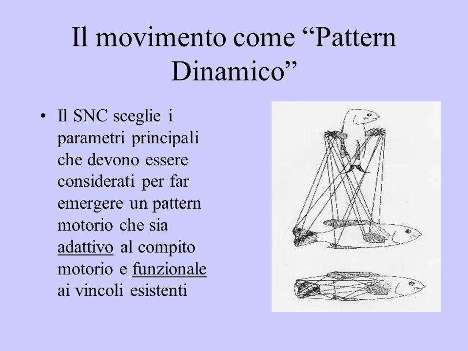 Il movimento come Pattern Dinamico
