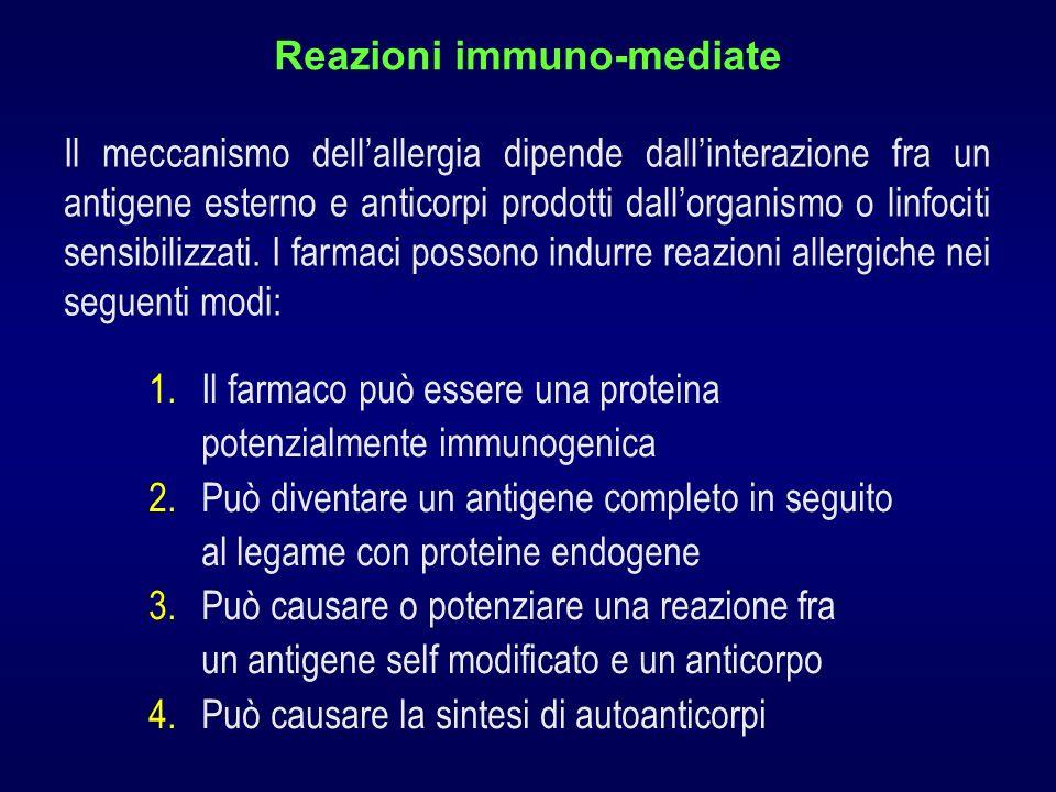Reazioni immuno-mediate