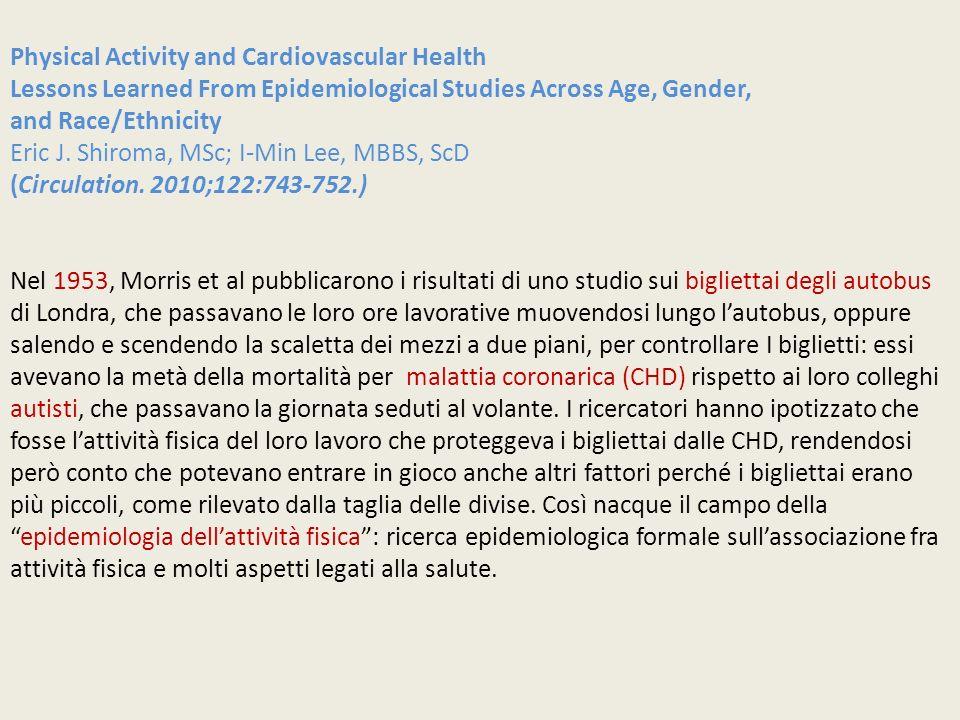 Physical Activity and Cardiovascular Health