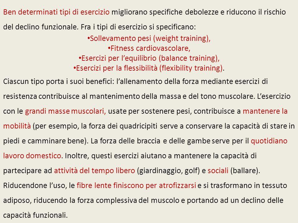 Sollevamento pesi (weight training), Fitness cardiovascolare,