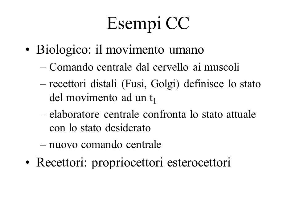 Esempi CC Biologico: il movimento umano