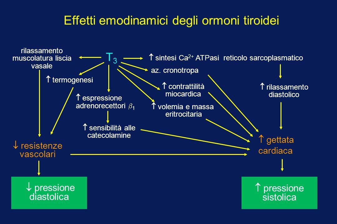 Effetti emodinamici degli ormoni tiroidei