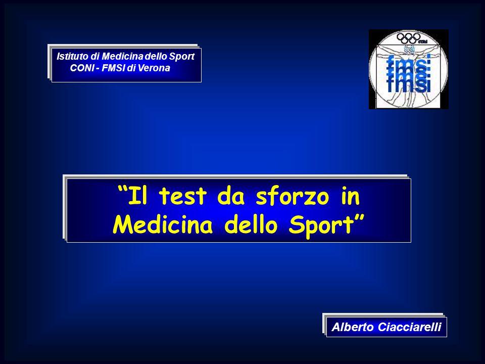 Il test da sforzo in Medicina dello Sport