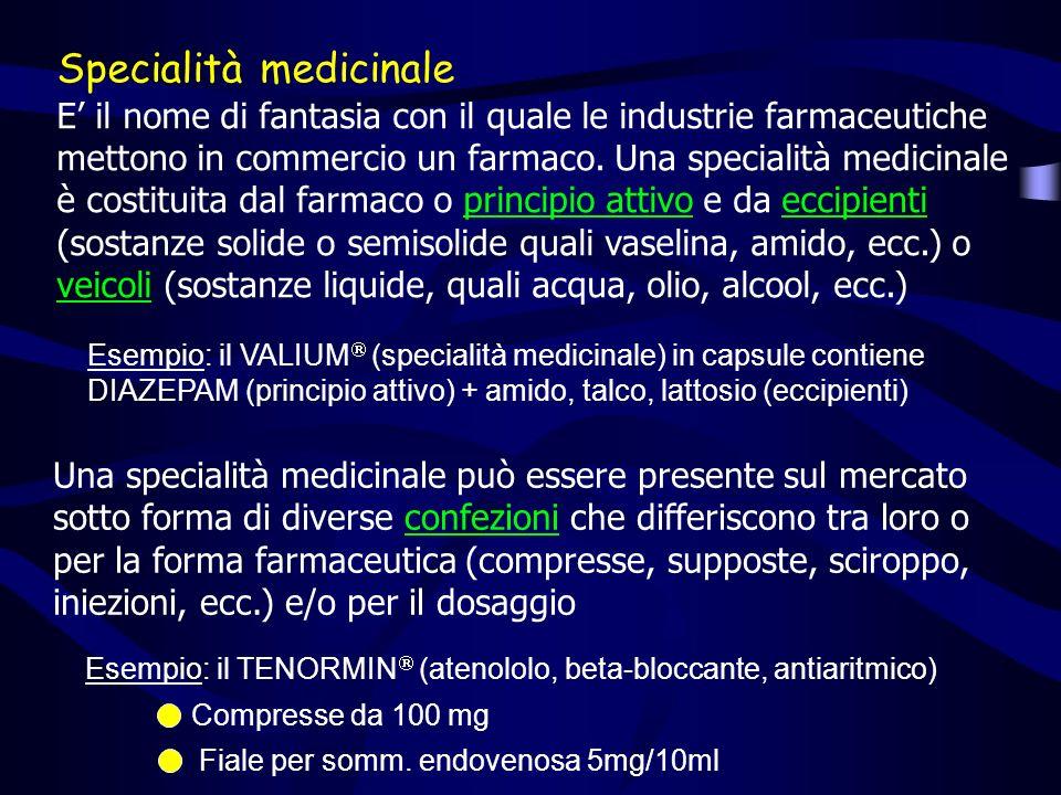 Specialità medicinale