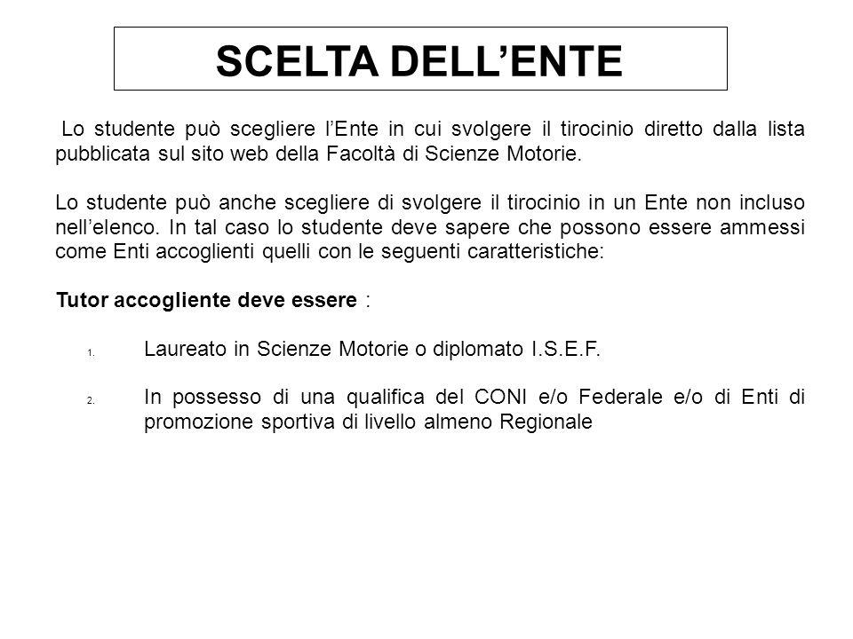 27/12/09 SCELTA DELL'ENTE.