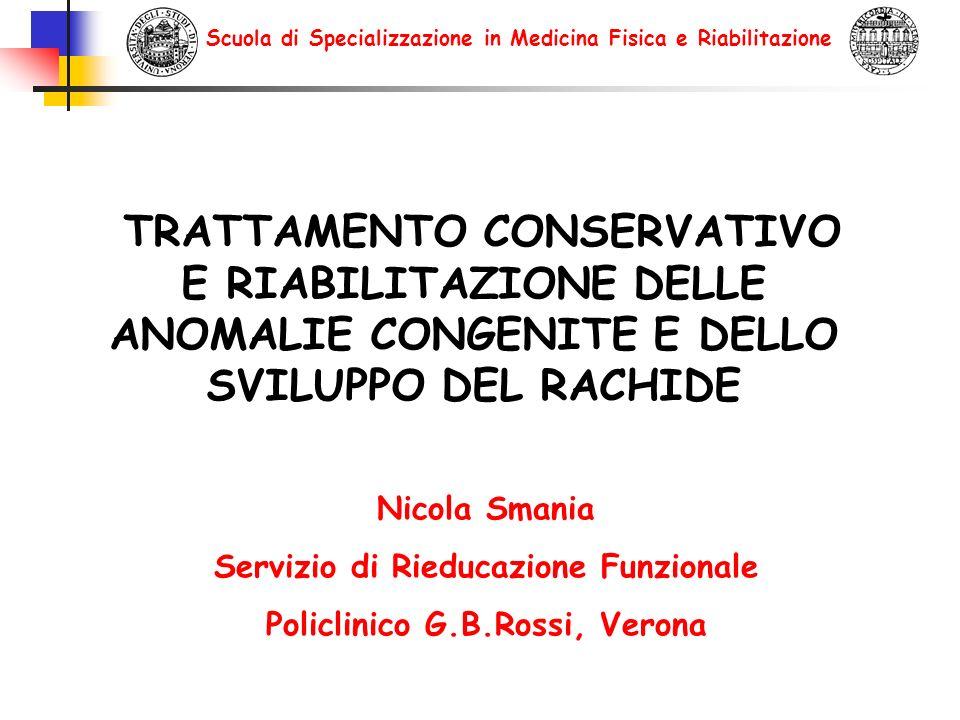Servizio di Rieducazione Funzionale Policlinico G.B.Rossi, Verona