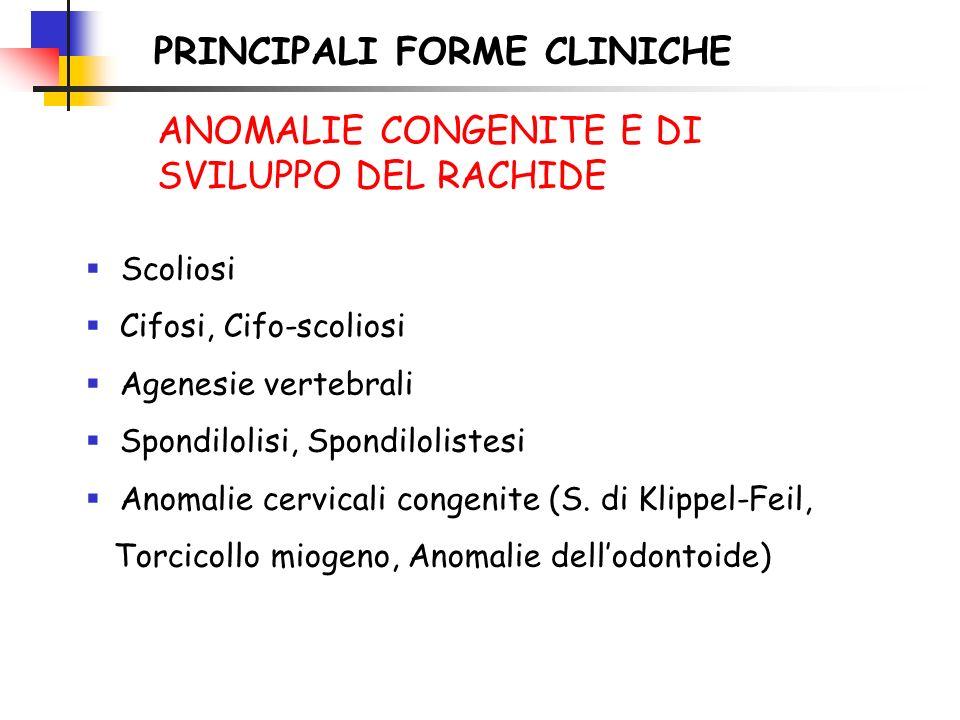 PRINCIPALI FORME CLINICHE