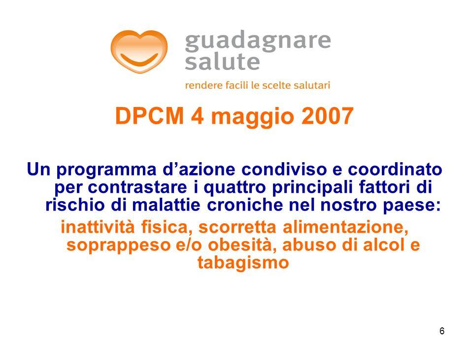 DPCM 4 maggio 2007