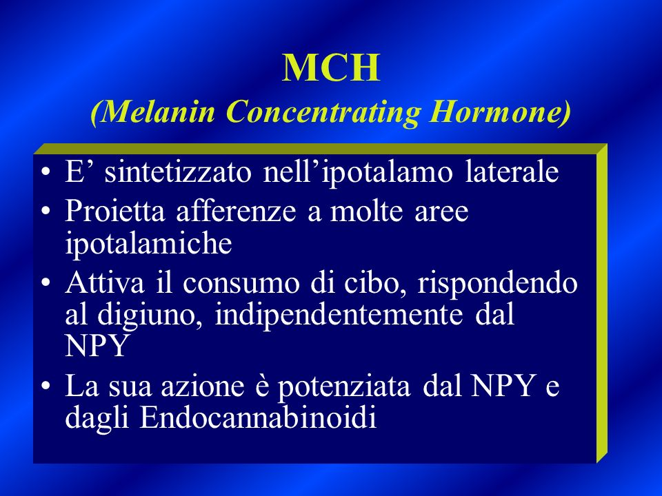 MCH (Melanin Concentrating Hormone)