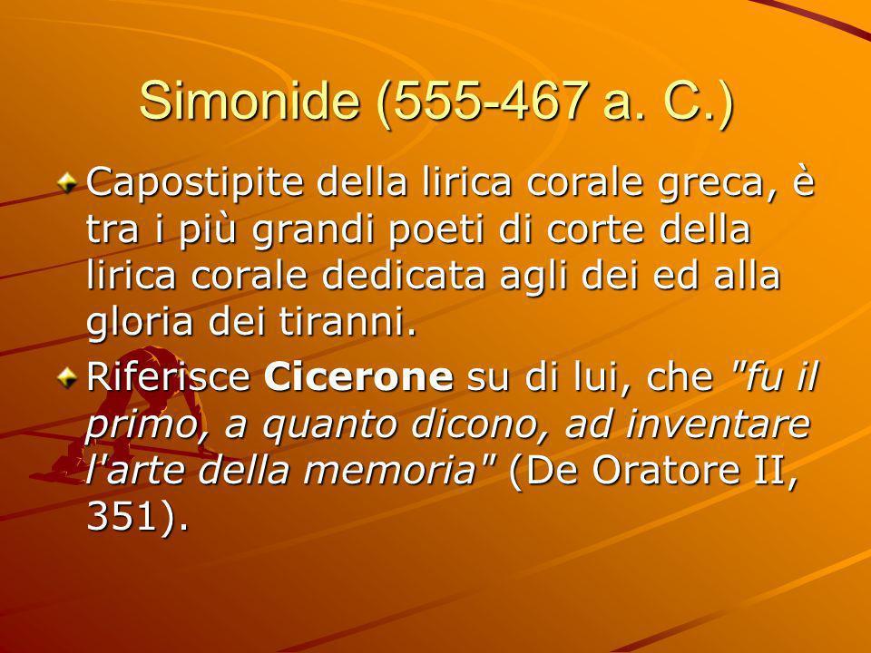 Simonide (555-467 a. C.)