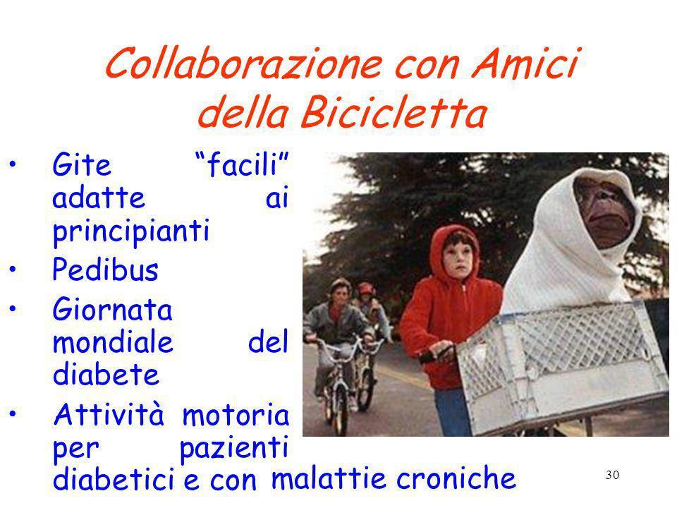 Collaborazione con Amici della Bicicletta
