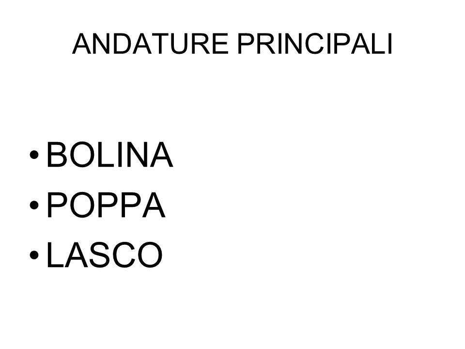 ANDATURE PRINCIPALI BOLINA POPPA LASCO