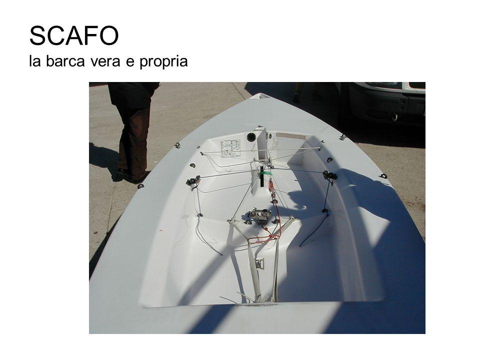 SCAFO la barca vera e propria