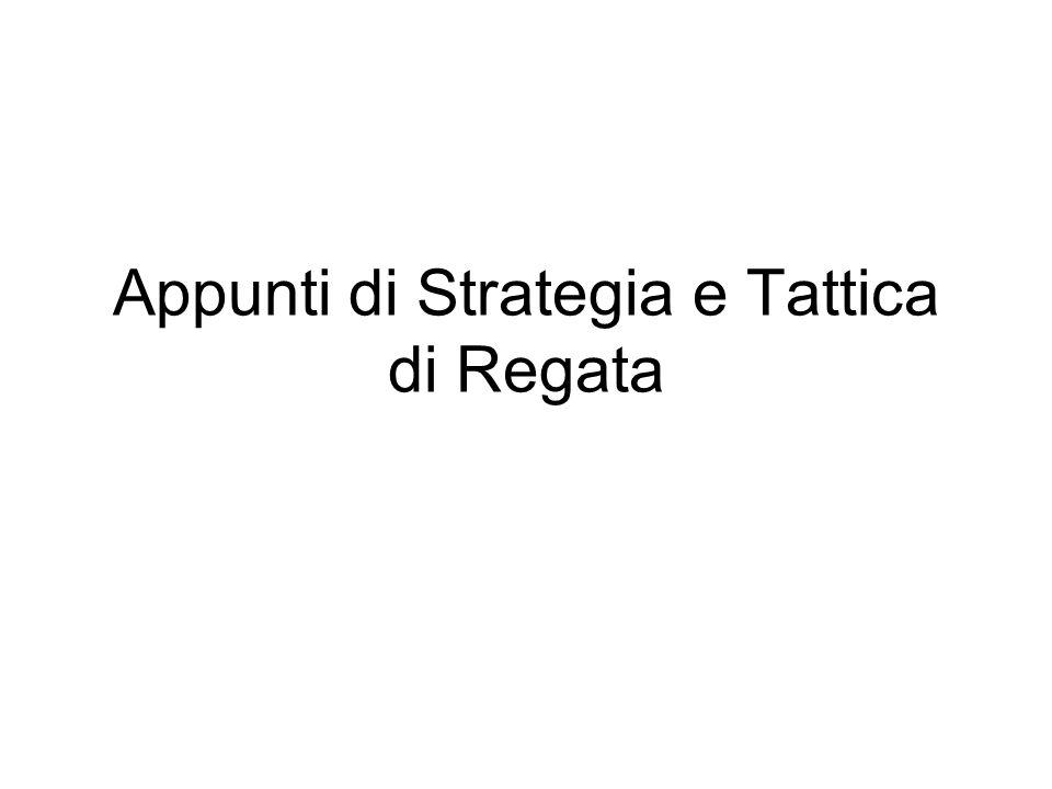 Appunti di Strategia e Tattica di Regata