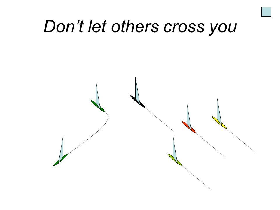 Don't let others cross you